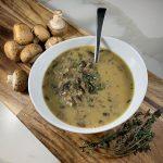 Whole30 Cream of Mushroom Soup