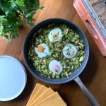 Green Shakshuka featuring Abbio Cookware