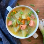 Pacific Northwest Salmon Chowder