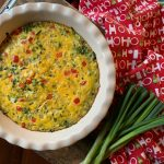 Red & Green Christmas Casserole
