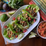 Shrimp Fajita Tacos