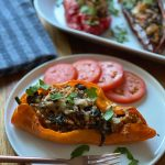 Vegetarian Stuffed Sweet Pointed Peppers