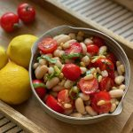 Cannellini Bean & Cherry Tomato Salad