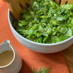 Green Salad with Mustard Shallot Vinaigrette