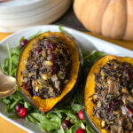 Celebration Wild Rice-Stuffed Acorn Squash