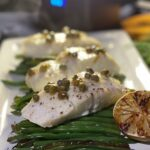 Grilled Haddock with Lime & Caper Butter